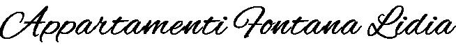 Appartamenti Fontana Lidia Logo